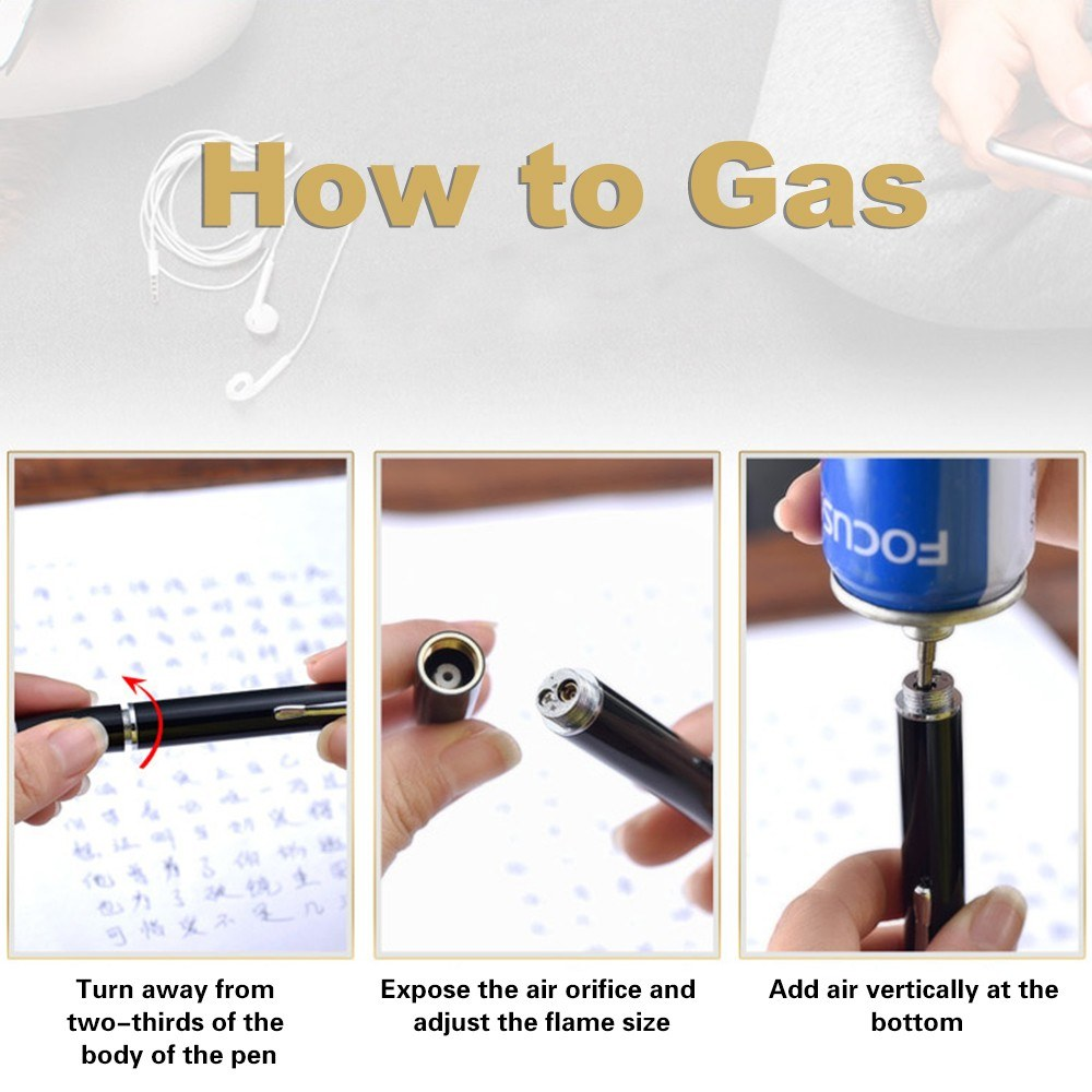 Ball Point Pen Shape Windproof Gas Lighters Sales Online