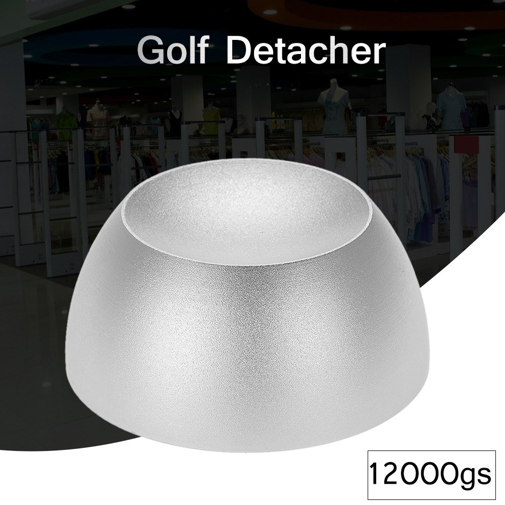 Super Golf Detacher Security Tag Remover Magnetic Intensity 12,000gs  Anti-theft Silver