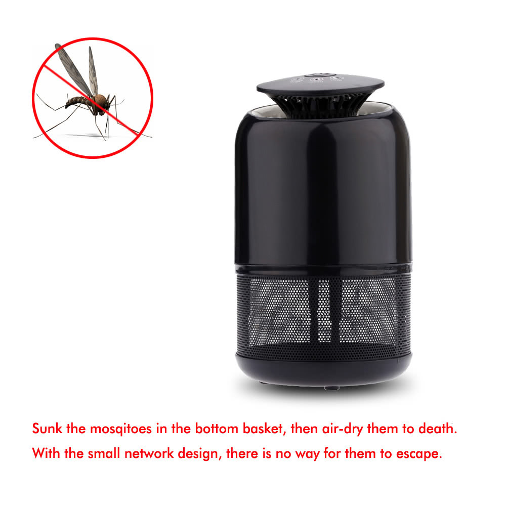 Smart UV Mosquito Killer Household LED Mosquito-Killing Trap Lamp Bug Flying Insect Pest Zapper Purple Lighting Sucking Device Night Light Sales Online all ...