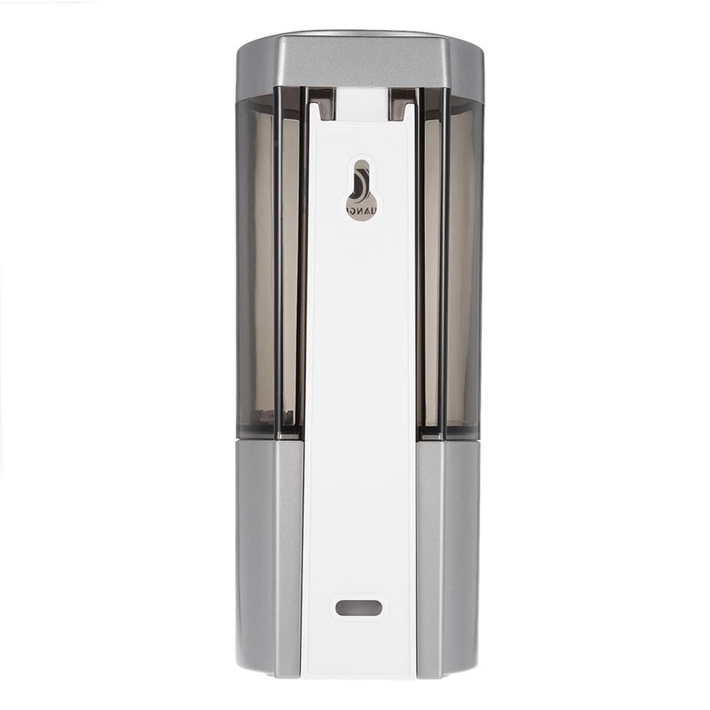 chuangdian 500ml wand einzelflasche automatischer seifenspender mit ir sensor shampoo box rest. Black Bedroom Furniture Sets. Home Design Ideas