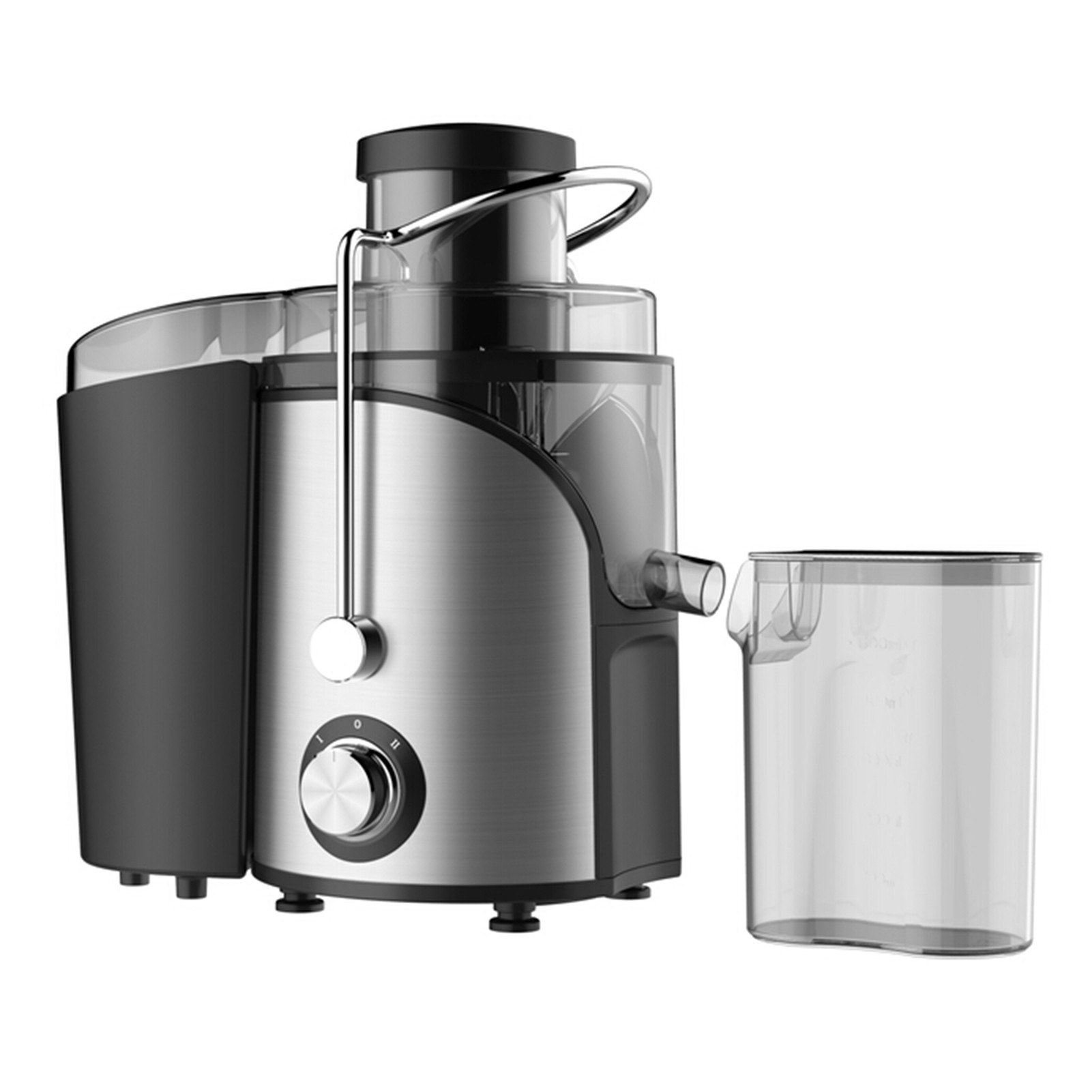 tomtop.com - [US Clearance Sale] 64% OFF Homgeek 600W Extractor Centrifugal Juicers Anti-Shake Design, $27.99 (Inclusive of VAT)