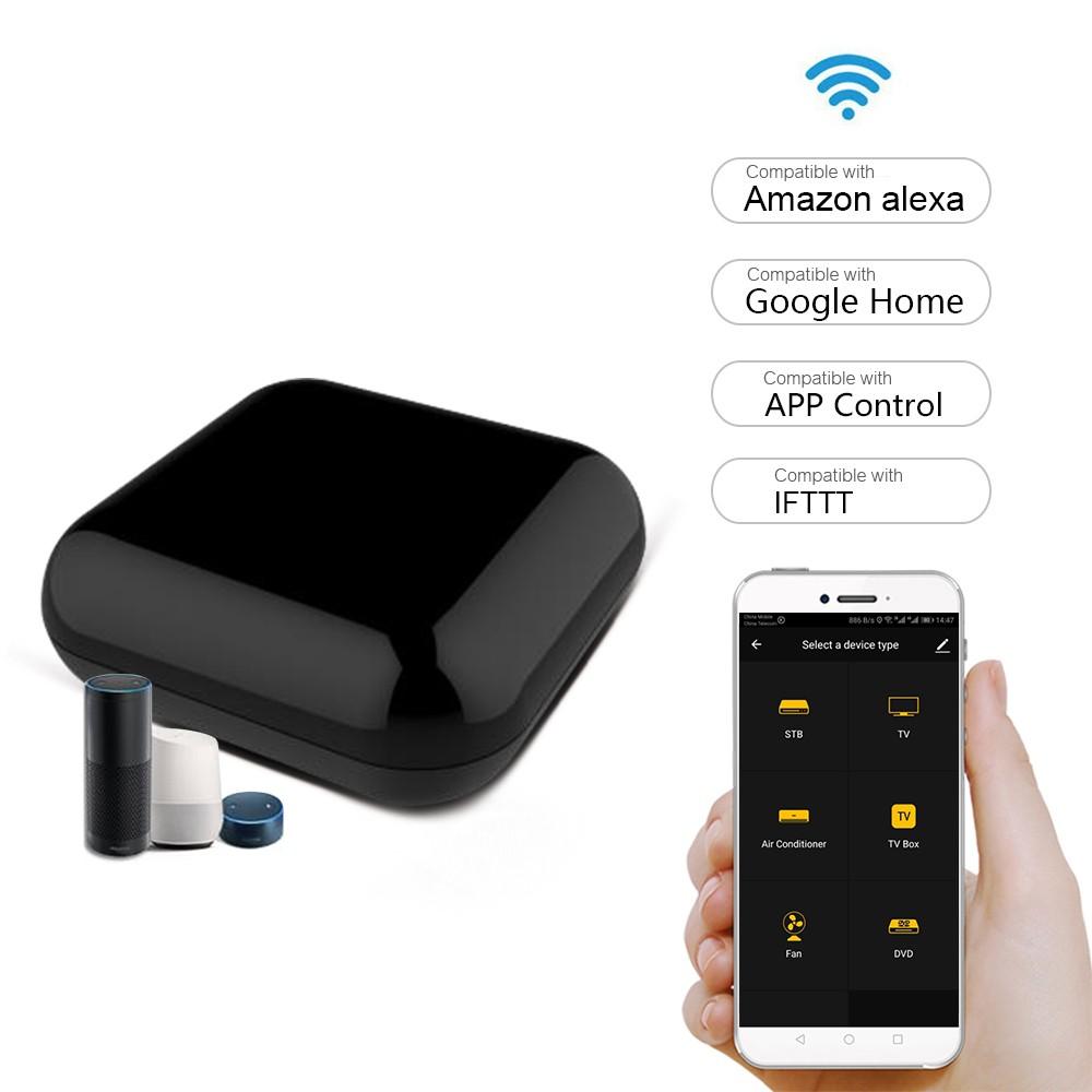 IR Remote Controller Infrared Wi-Fi Universal TV/Air Conditioner/Fan/TV Box Voice Control Remote Control