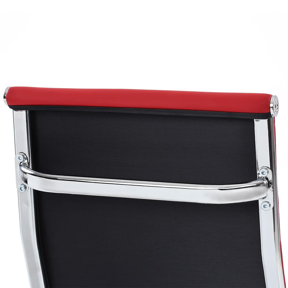 ikayaa luxus ergonomische pu leder b ro chefsessel hocker verstellbarer swivel high back. Black Bedroom Furniture Sets. Home Design Ideas