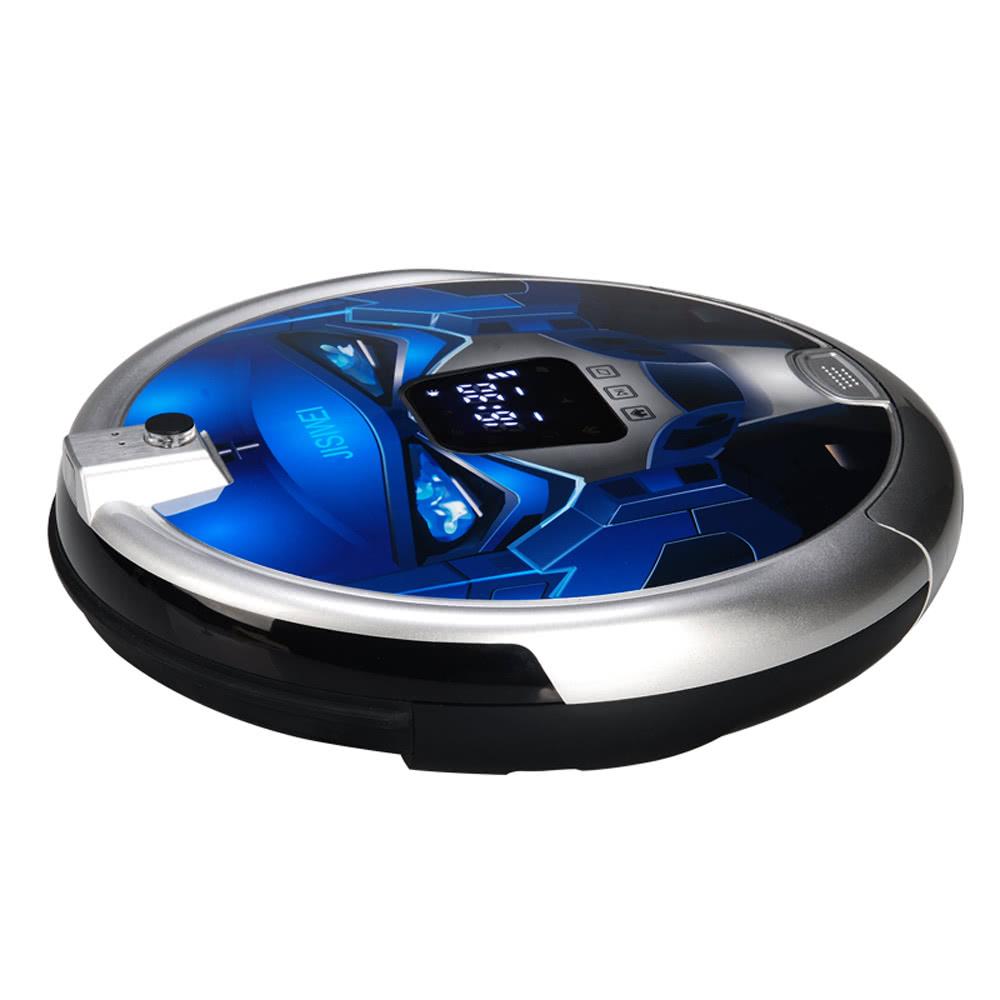 JISIWEI S Automatic Vacuum Cleaner Robotic With 1080p Camera WiFi Infrared APP Remote Control Sales Online Blau Eu