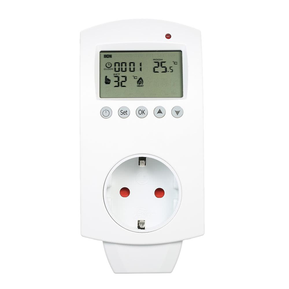 Mejor piso calefacci n termostato enchufe de eu venta for Precio termostato calefaccion