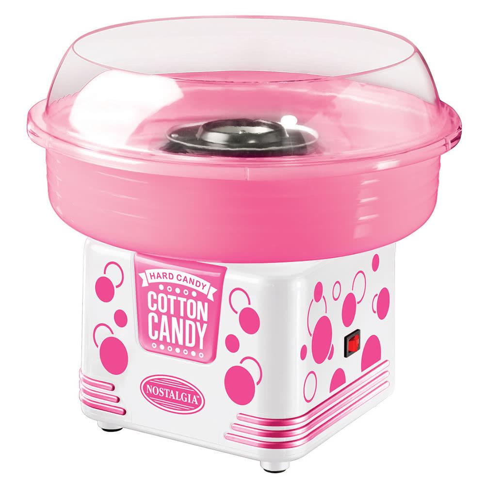 Nostalgia 50s Retro Mini Household Cotton Candy Machine ...