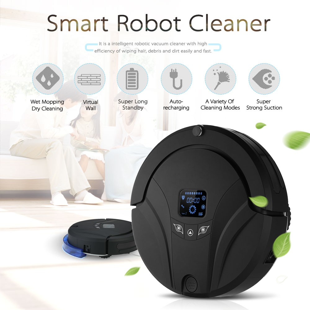 Best Automatic Vacuum Cleaner eu plug Sale Online Shopping | Cafago.com
