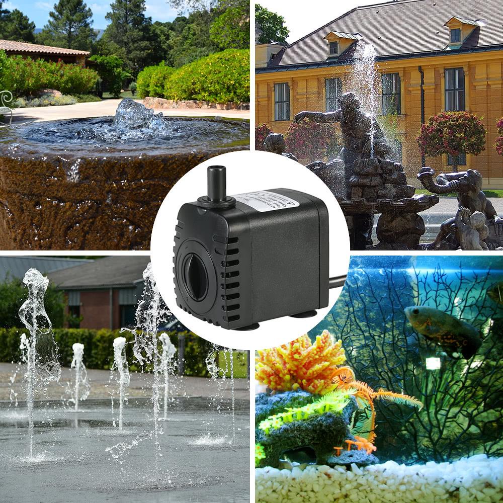 600l h 8w submersible water pump for aquarium tabletop for Aquarium 600l