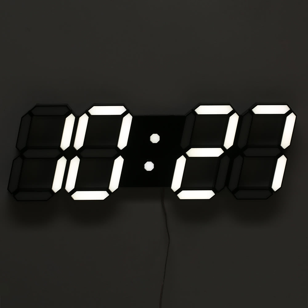 Multi functional large led digital wall clock remote control sales multi functional large led digital wall clock remote control alarm clock 12h24h time date display countdown count up adjustable luminance amipublicfo Images