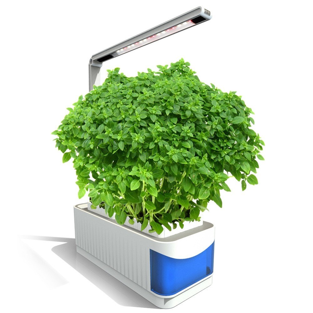Smart Indoor Herb Gardening Planter Light Kit Hydroponic