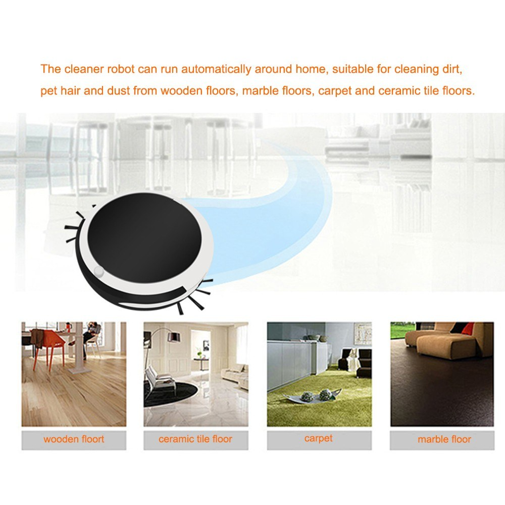 household rechargeable smart vacuum cleaner