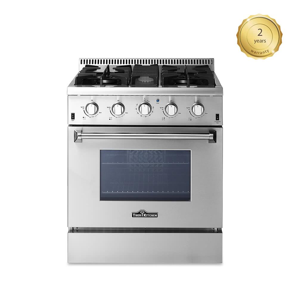 Thor cuisine hrg3080u haut de gamme l gante 30 4 burners - Cuisine de bonne qualite ...