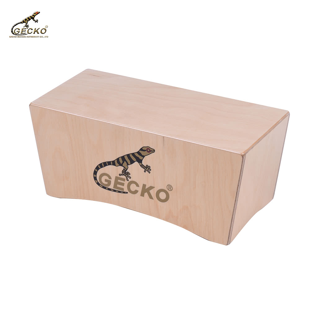 gecko compact size cajon box drum hand drum birch wood persussion instrument for sale us. Black Bedroom Furniture Sets. Home Design Ideas