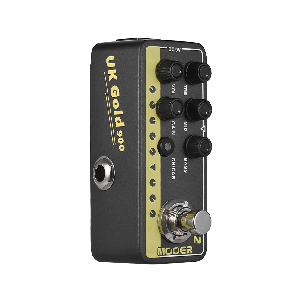 Mooer Micro Preamp Series 002 Uk Gold British Crunch Digital Uhf Preamplifier Guitar Effect Pedal True Bypass For Sale Us9399 1 Tomtop