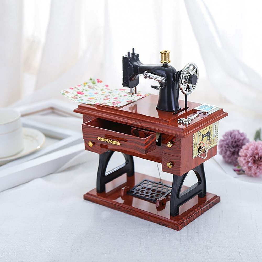 Sewing Machine Music Box $7.89...