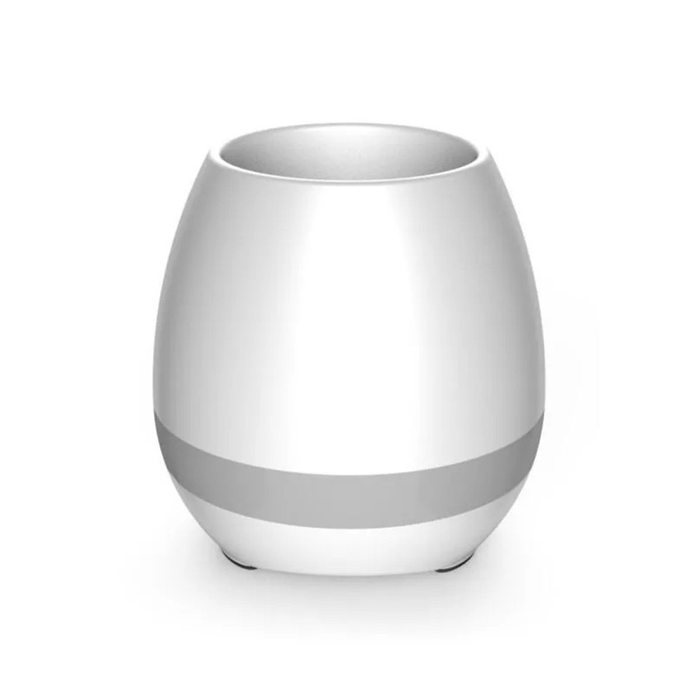 Tomtop - 54% OFF muslady Smart LED Music Flower Pot, Free Shipping $16.99