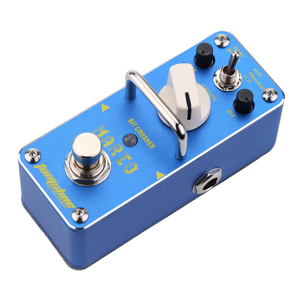 aroma amo 3 mario bit crusher electric guitar effect pedal for sale us navy blue tomtop. Black Bedroom Furniture Sets. Home Design Ideas