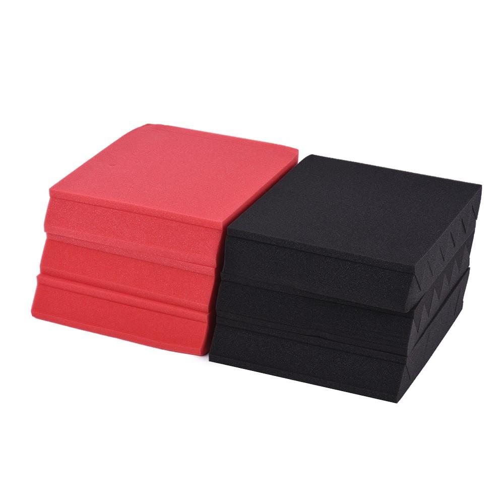Acoustic Foam Insulation : Pack studio acoustic foams sponge panels tiles
