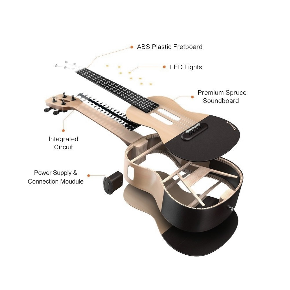 5125-OFF-Xiaomi-Populele-U1-23-Smart-Concert-Ukulele-Kitlimited-offer-249899