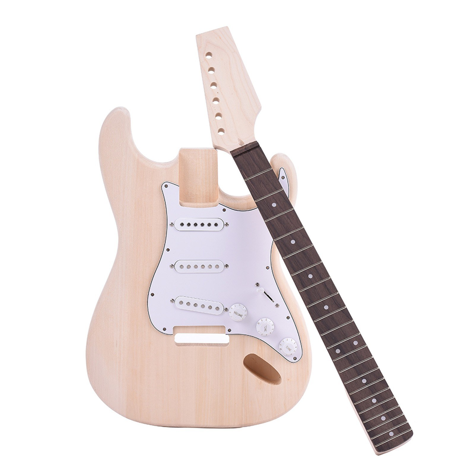 cafago.com - 63% OFF Muslady ST Style Electric Guitar,free shipping+$71.15