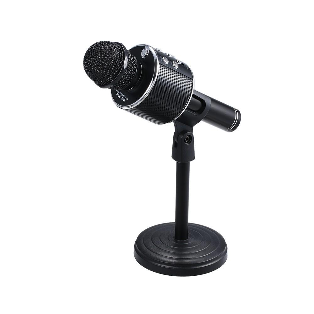 flexible desktop microphone stand for sale us black tomtop. Black Bedroom Furniture Sets. Home Design Ideas