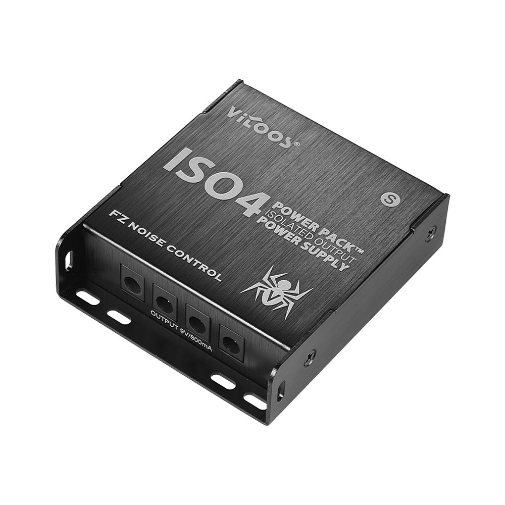 vitoos iso4s mini guitar effects power supply power pack station 5 isolated dc 9v outputs max. Black Bedroom Furniture Sets. Home Design Ideas