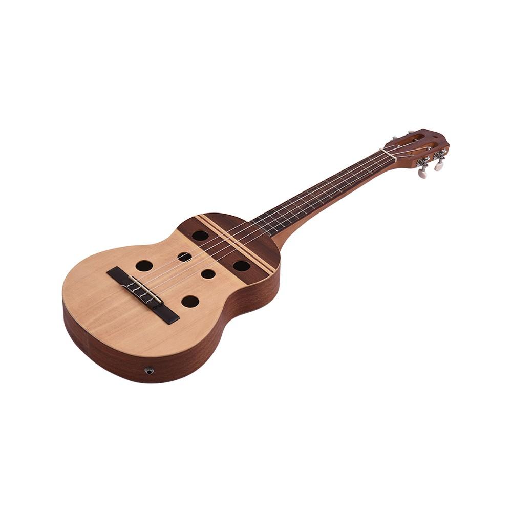 34 inch electric ukulele ukelele uke built in 2 band pickup eq with gig bag strap connection. Black Bedroom Furniture Sets. Home Design Ideas