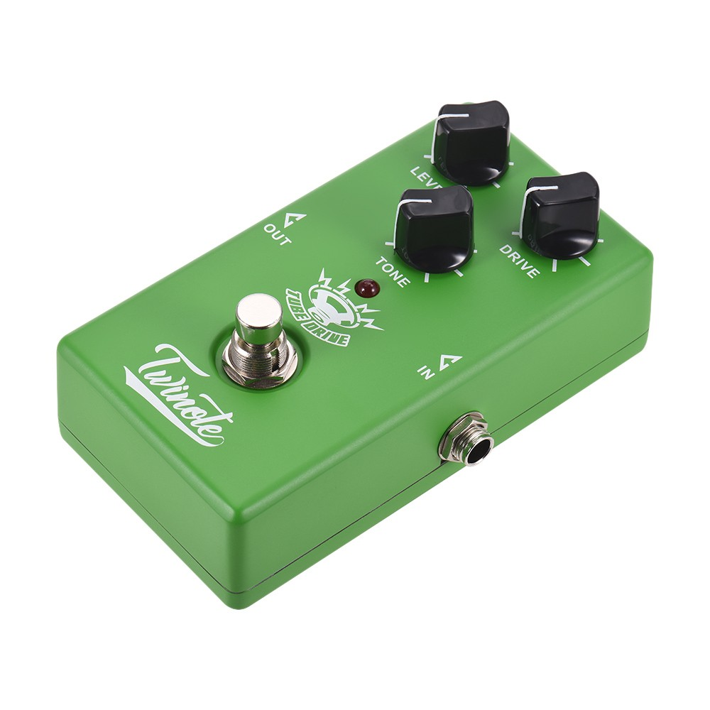 Twinote Tube Drive Analog Overdrive Guitar Effect Pedal Processsor Circuit Full Metal Shell With True Bypass For Sale Us2255 Tomtop