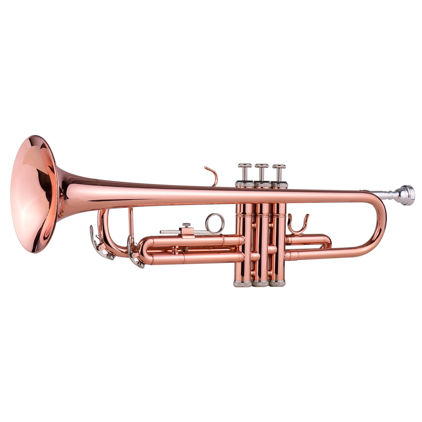 tomtop.com - 59% OFF ammoon TR-180 Standard Bb Brass Trumpet with Hard Case, Cyber Monday $124.99