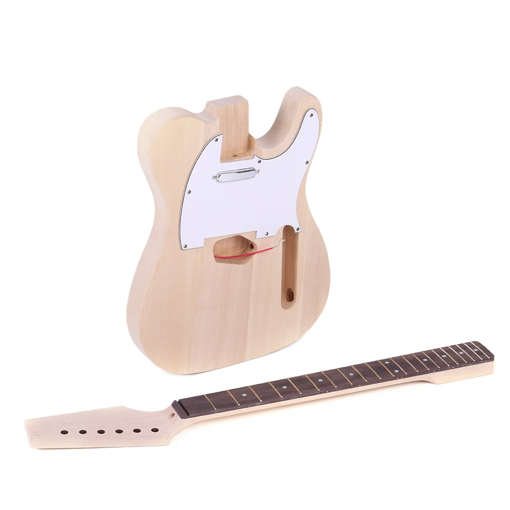 Tele Style Unfinished Diy Electric Guitar Kit For Sale Us12399 Wiring Diagram 335 White Tomtop