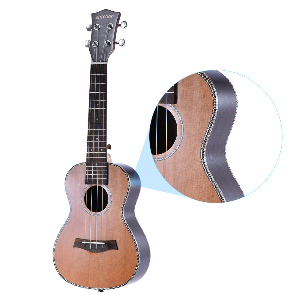 Musical Instruments Helpful 23 Inch Ukulele Concert Rosewood Fretboard Ukelele Fingerboard 18 Frets Guitar Parts & Accessories