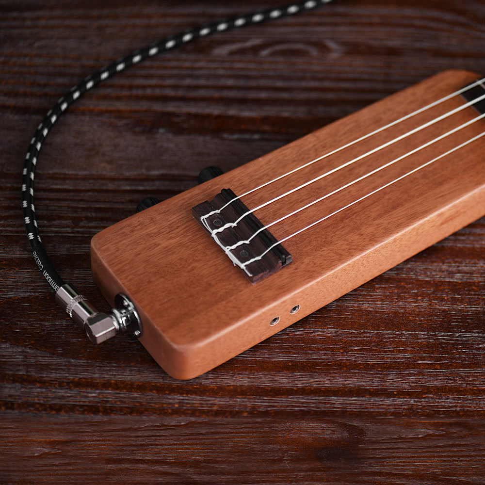 ammoon creative 21 solid wood okoume electric ukulele ukelele uke for sale us brown. Black Bedroom Furniture Sets. Home Design Ideas