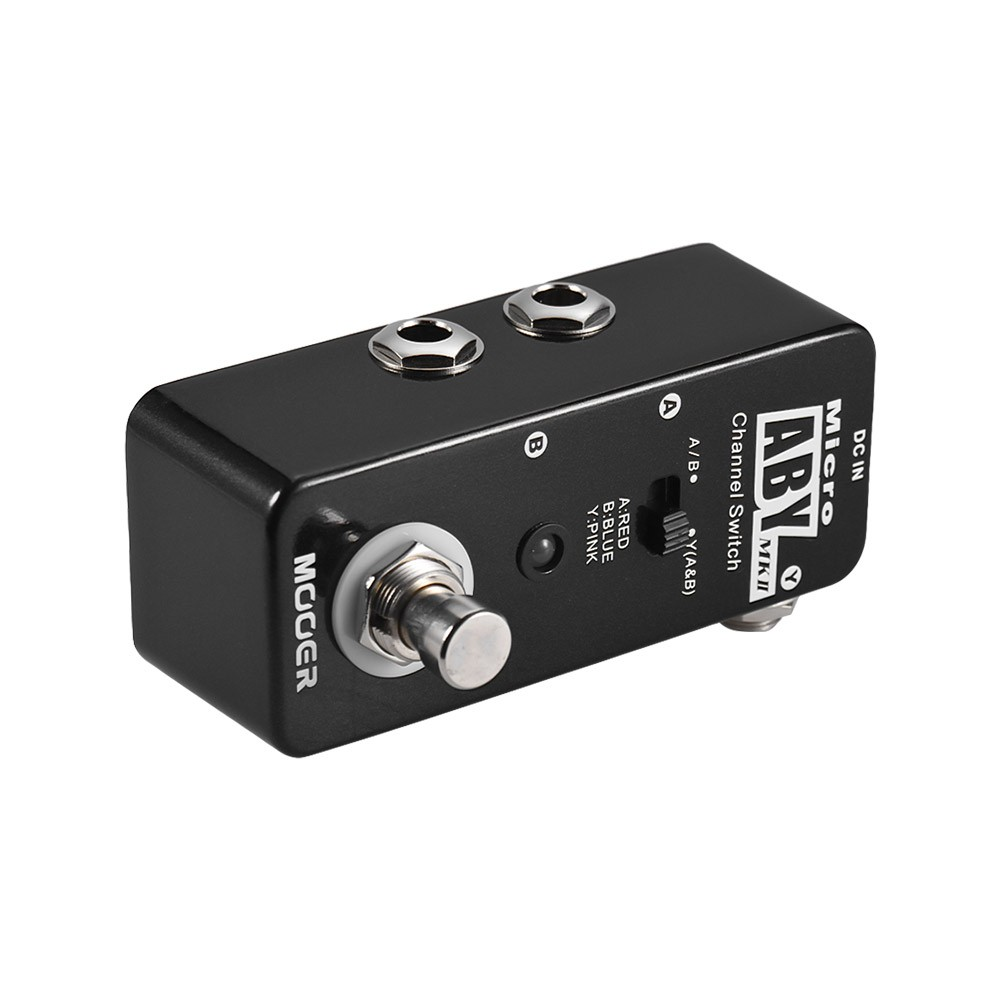 mooer aby mkii channel switch guitar effect pedal true bypass full metal shell for sale us 34. Black Bedroom Furniture Sets. Home Design Ideas