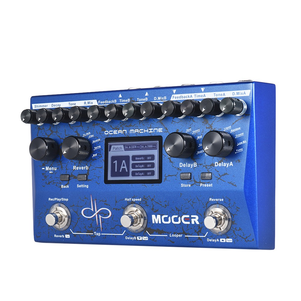 2420-OFF-MOOER-OCEAN-MACHINE-Multi-effects-Pedalfree-shipping-24269(codeGGLKJ)