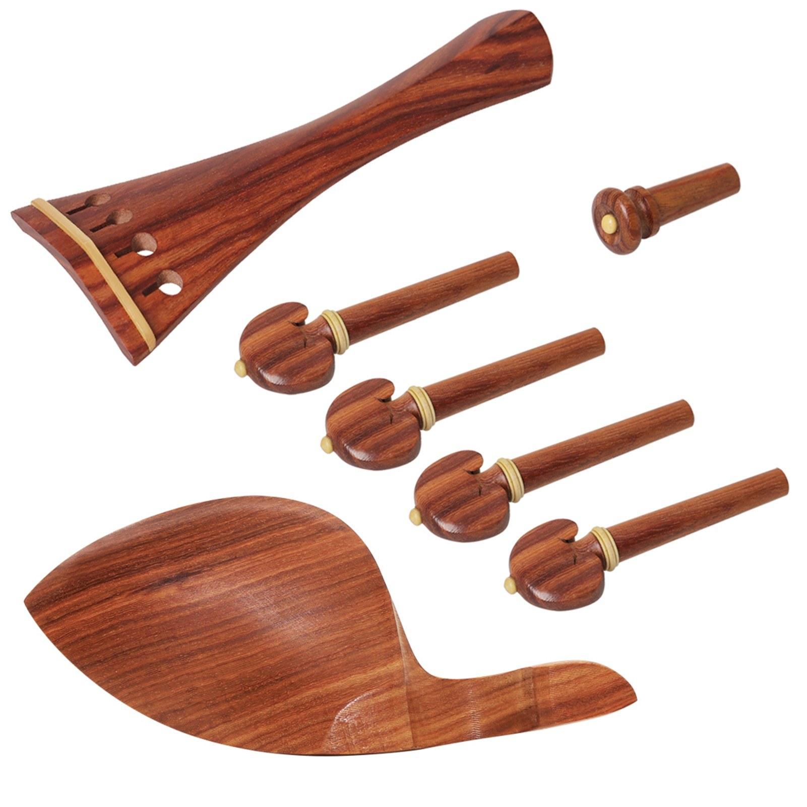 Accessoires dinstruments de Musique de cordier de Violoncelle Cordier en Bois d/éb/ène pour Le Violoncelle 3//4 4//4