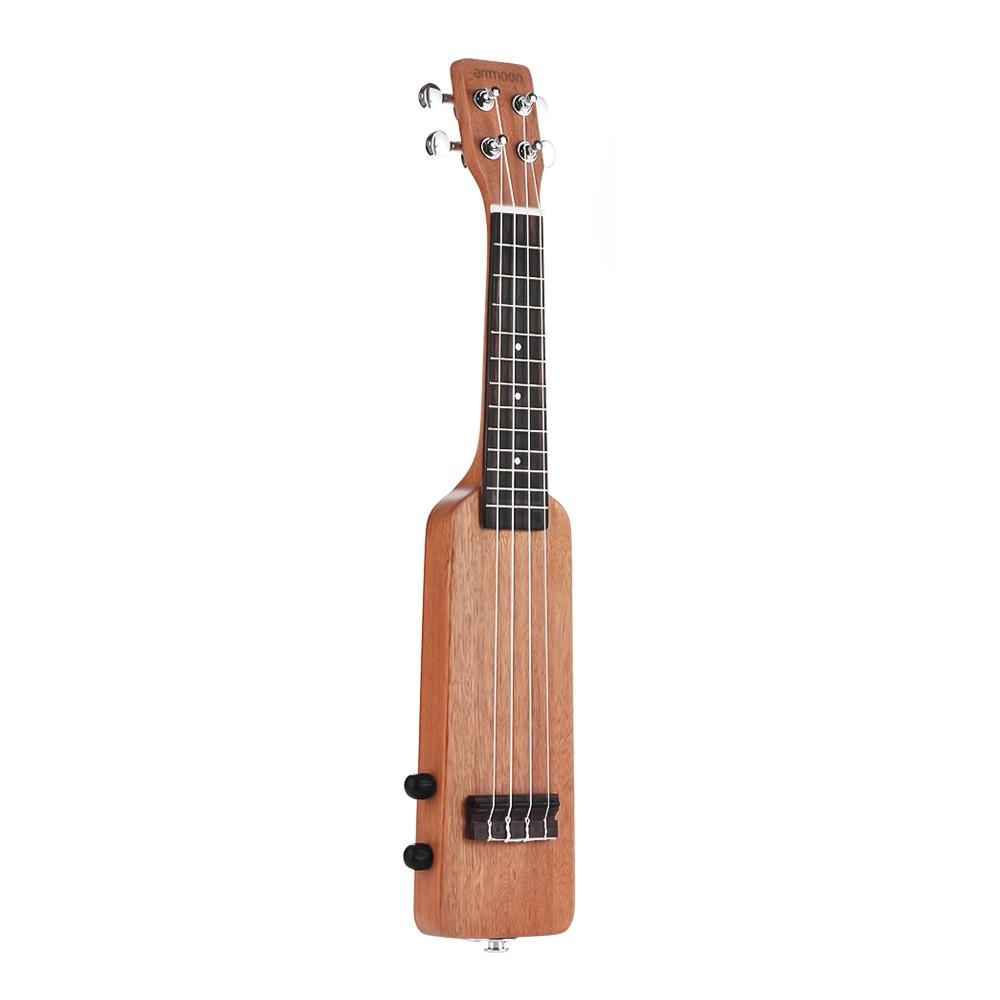 ammoon 21 solid wood okoume electric ukelele uke kit for sale us natural tomtop. Black Bedroom Furniture Sets. Home Design Ideas