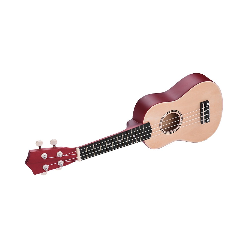 21 inch colored acoustic soprano ukulele for sale us wood tomtop. Black Bedroom Furniture Sets. Home Design Ideas