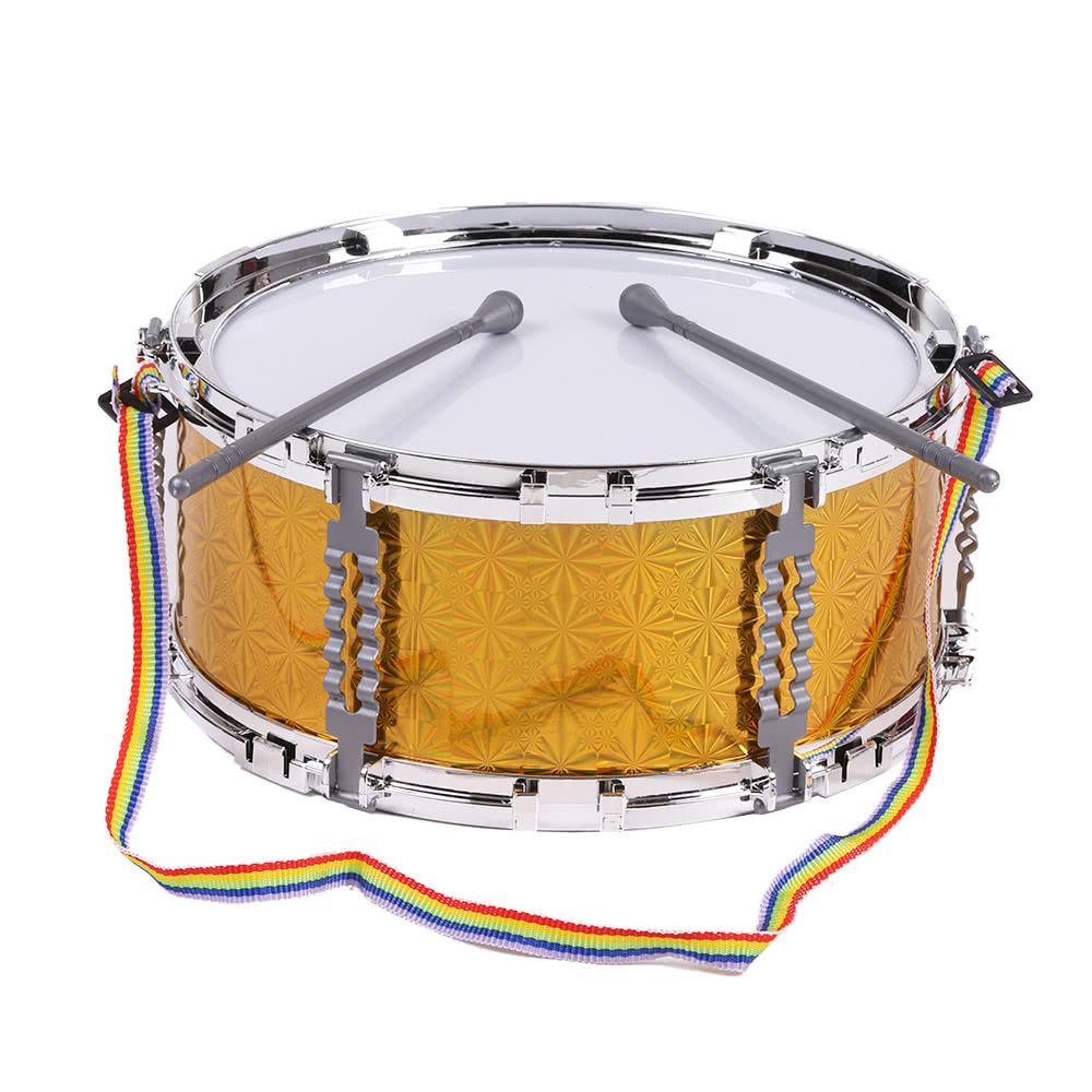 Toy Drum Musical Instruments : Colorful jazz snare drum musical toy percussion instrument