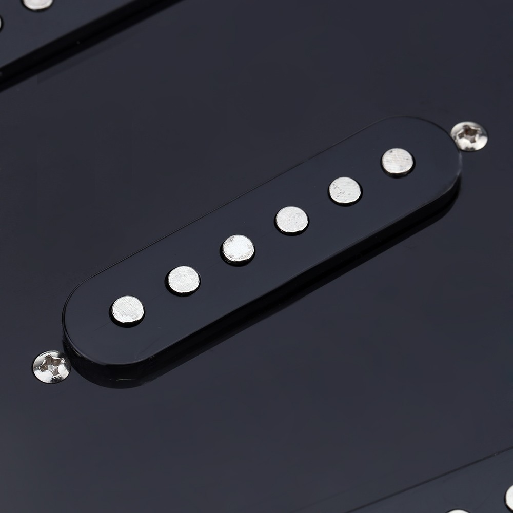 Prewired Pickguard 5 Way Switch Loaded Set With 3 Ply And 4 For Sale 11 Hole St Fender Electric Guitar Us89 Black Tomtop