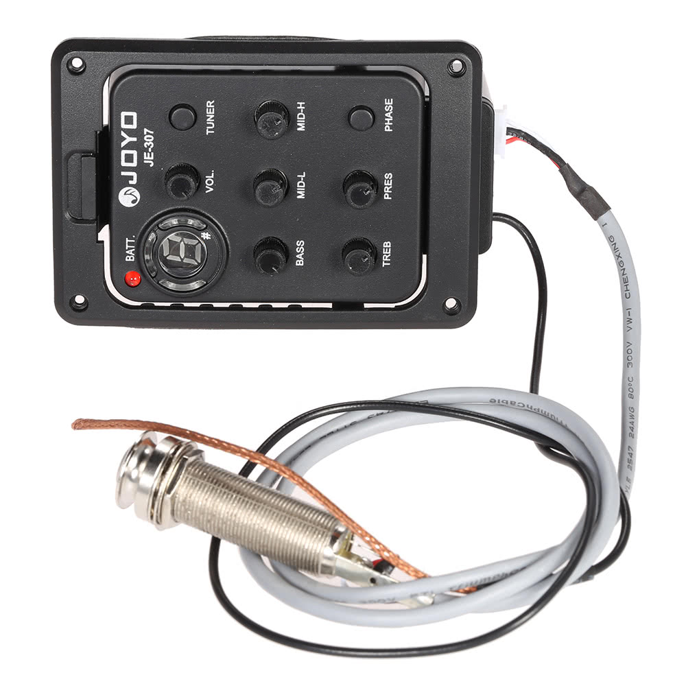 Buy No1 Equalizer 5 Band Best Price Wiring Piezo And Mag Ic Pick Up On A Volume Pot For Guitar Joyo Je 307 Eq Acoustic Preamp Pickup Tuner