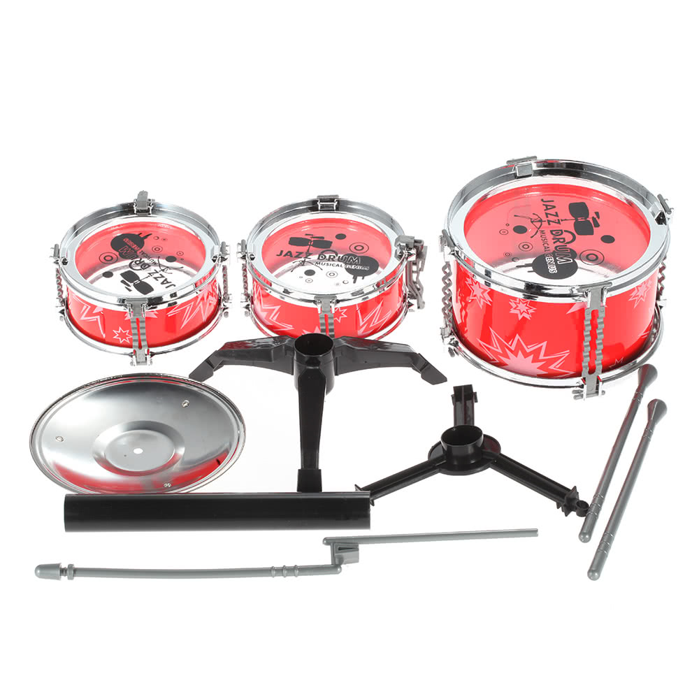 Drums At Toys R Us : Set of small jazz drum playset percussion musical