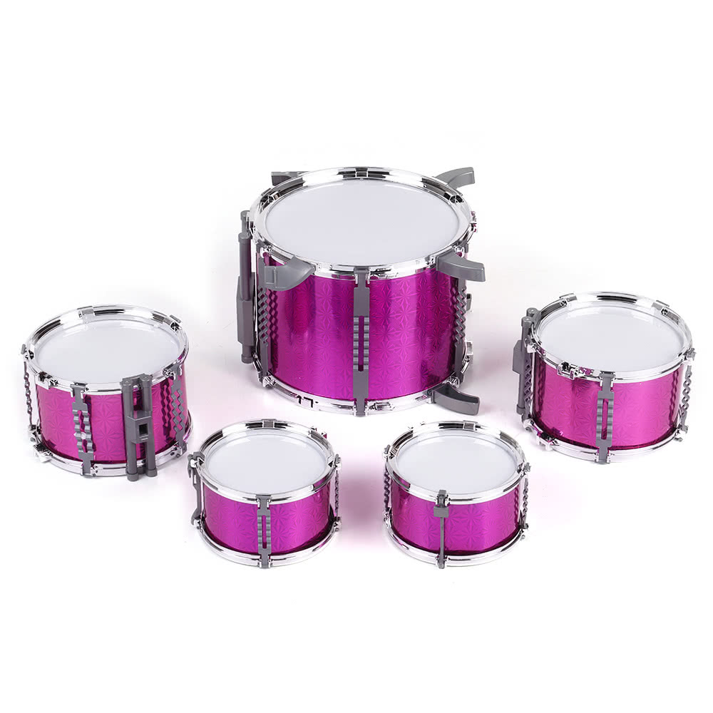 Compact Size Drum Set Children Kids Musical Instrument Toy