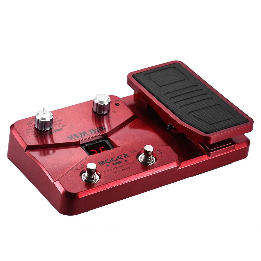 mooer vem box vocal multi effects processor effect pedal supports loop recording vocoder. Black Bedroom Furniture Sets. Home Design Ideas