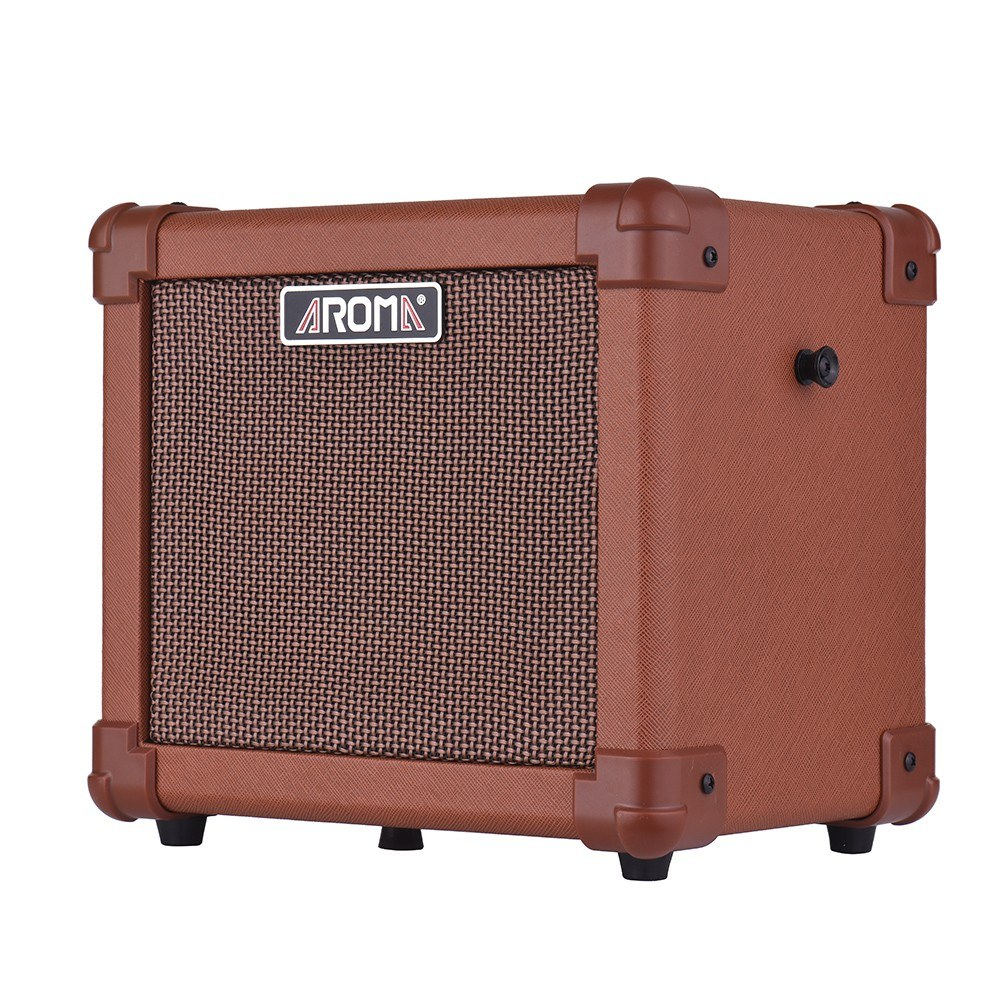 Aroma Ag 10a Portable Acoustic Guitar Amplifier Amp Speaker 10w With