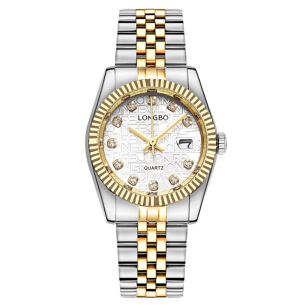 steel rose silver watch from wristwatches stainless diamond women relogio watches feminino quartz item s ladies gold in