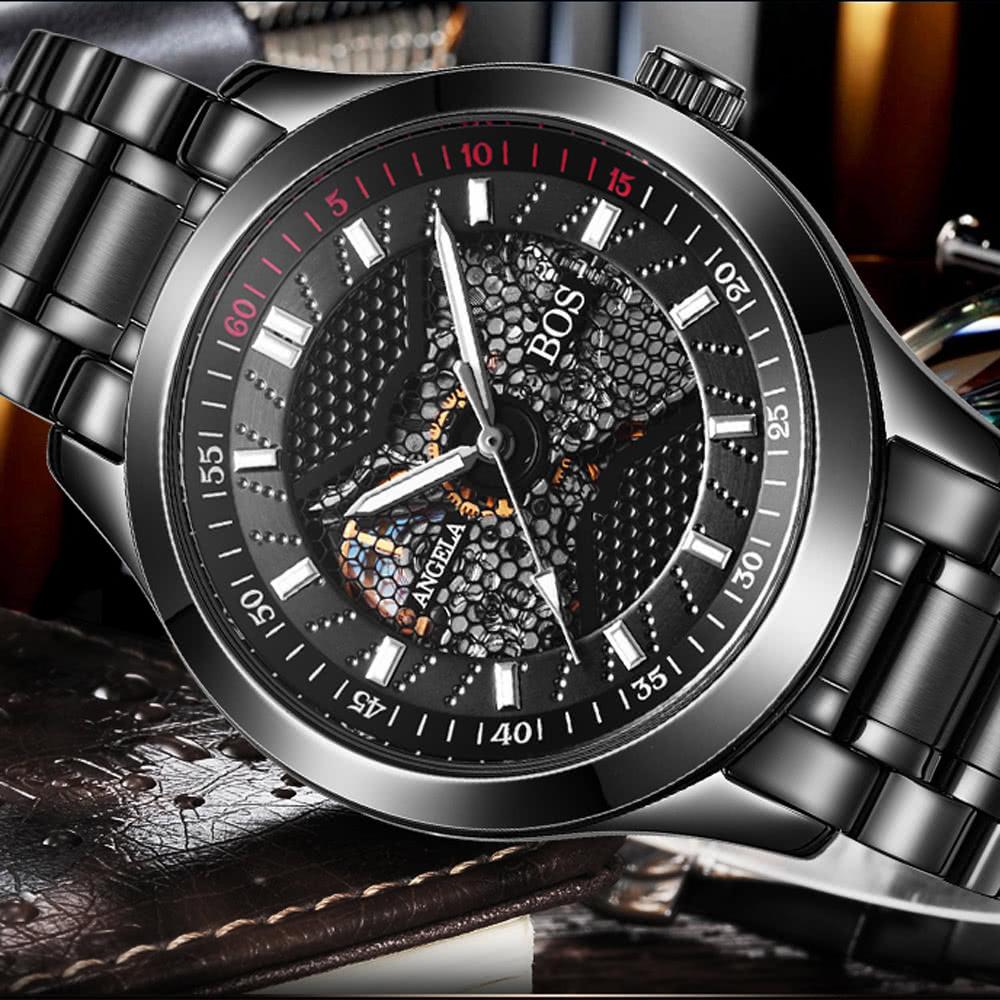 61e579268fb77 افضل انجيلا بوس ساعة يد للرجال من الجلد   2 بيع التسوق عبر الإنترنت ...