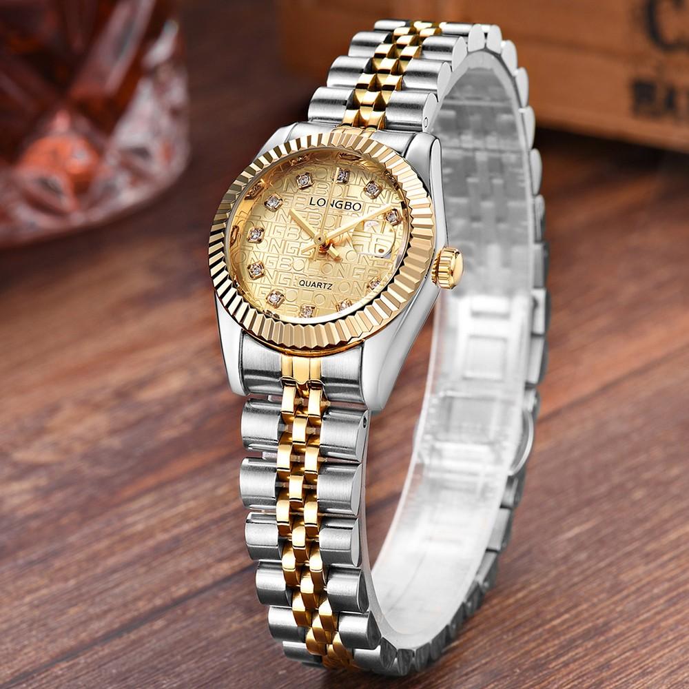 Migliore orologi longbo di lusso diamante dell 39 acciaio for Offerte orologi di lusso