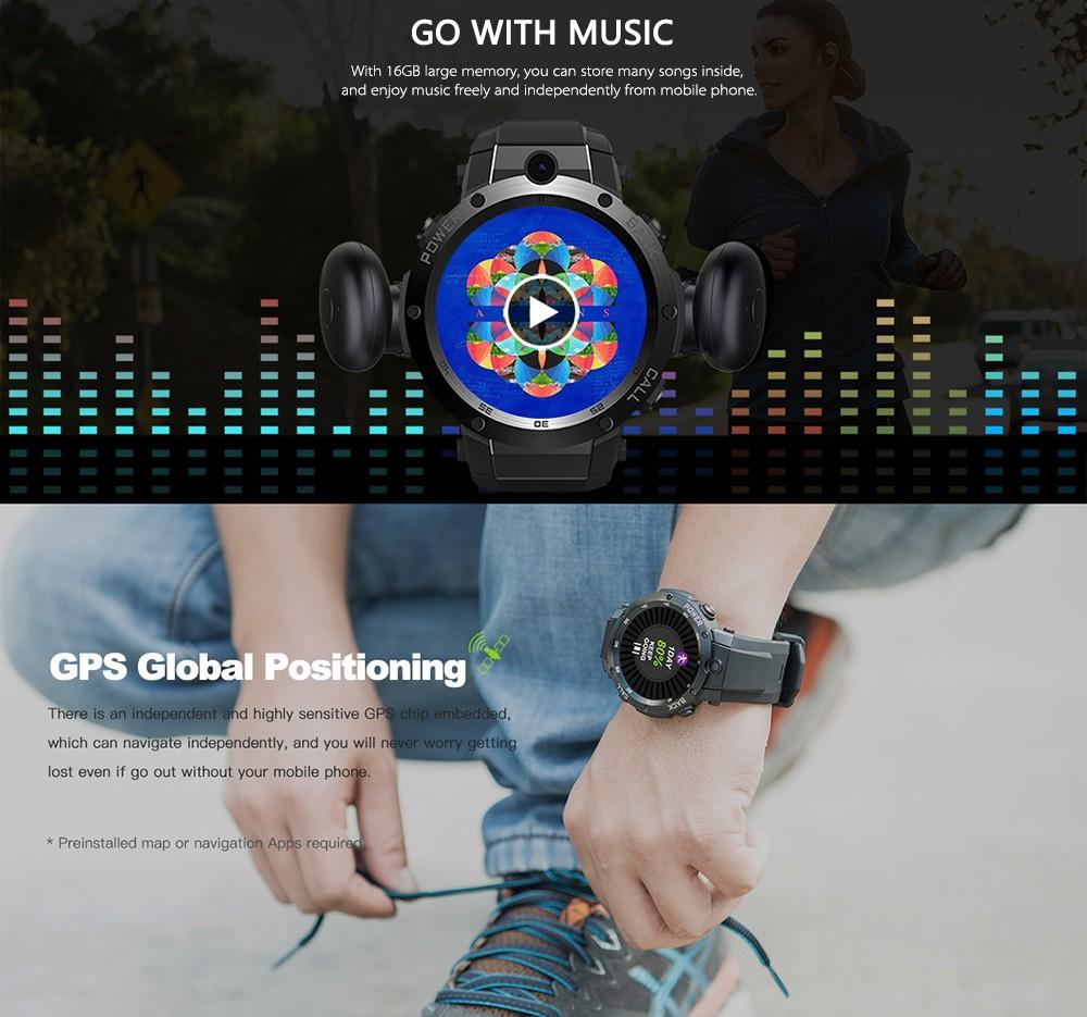Zeblaze THOR S 3G Smart Watch black Online Shopping