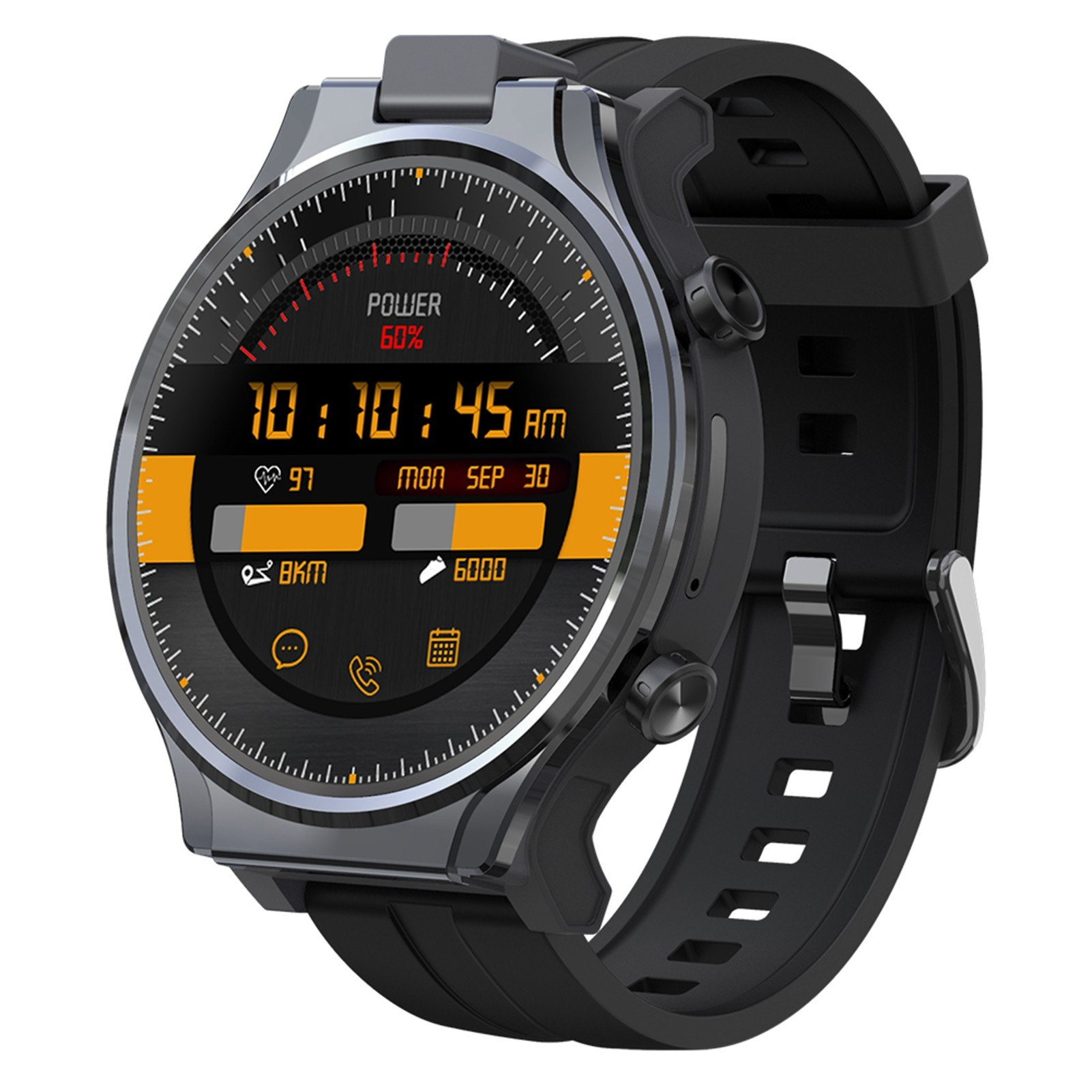 cafago.com - 54% OFF KOSPET PRIME 2 2.1-inch Full Touchscreen 4G Smart Watch 4GB+64GB with Replaceable Strap,free shipping+$254.14