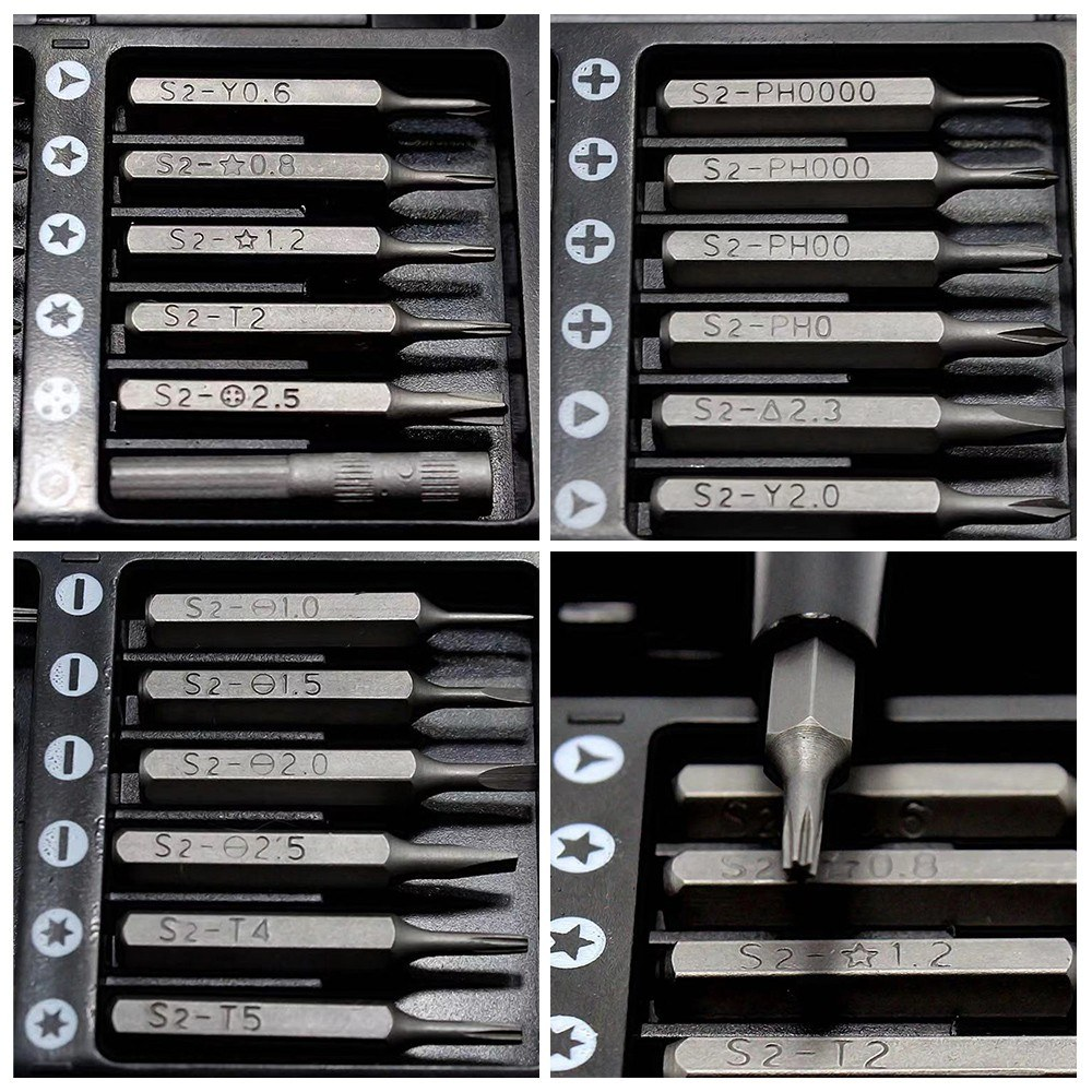 25 in 1 Precision Screwdriver Set Repair Tool Kit